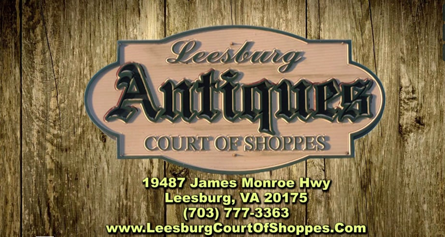YouTube Marketing Video Screenshot for Leesburg Antiques