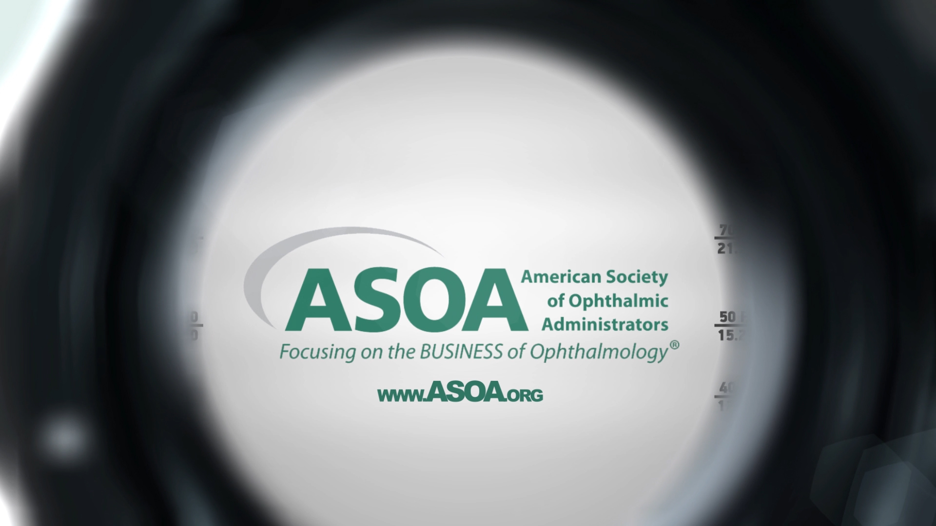 Training and Recruitment Video Screenshot for the American Society of Ophthalmic Administrators